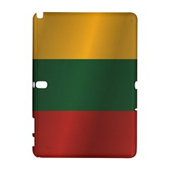 Flag Of Lithuania Samsung Galaxy Note 10.1 (P600) Hardshell Case