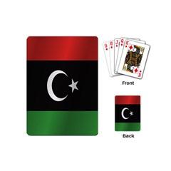 Flag Of Libya Playing Cards (Mini)