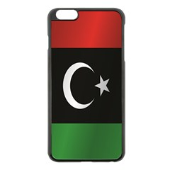 Flag Of Libya Apple iPhone 6 Plus/6S Plus Black Enamel Case
