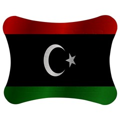 Flag Of Libya Jigsaw Puzzle Photo Stand (Bow)