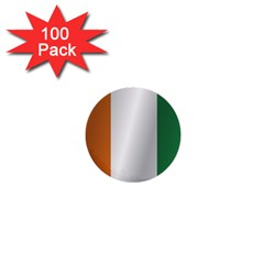 Flag Of Ivory Coast 1  Mini Buttons (100 pack)