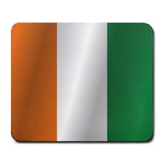 Flag Of Ivory Coast Large Mousepads