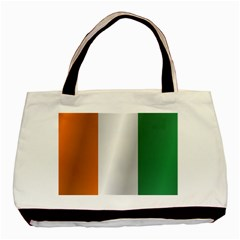 Flag Of Ivory Coast Basic Tote Bag (Two Sides)