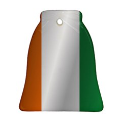 Flag Of Ivory Coast Bell Ornament (2 Sides)