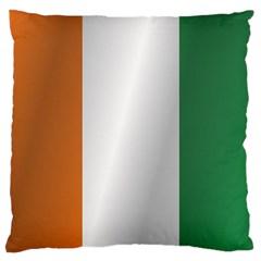 Flag Of Ivory Coast Large Cushion Case (One Side)