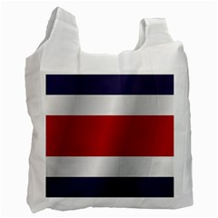 Flag Of Costa Rica Recycle Bag (One Side)