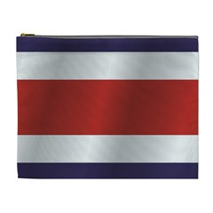 Flag Of Costa Rica Cosmetic Bag (XL)