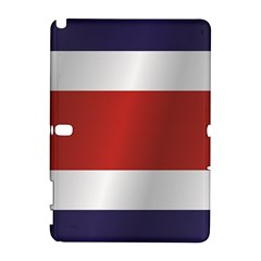 Flag Of Costa Rica Samsung Galaxy Note 10.1 (P600) Hardshell Case