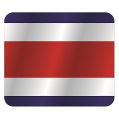 Flag Of Costa Rica Double Sided Flano Blanket (Small)