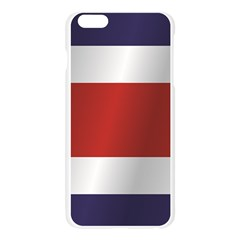 Flag Of Costa Rica Apple Seamless iPhone 6 Plus/6S Plus Case (Transparent)