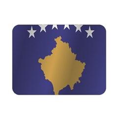Flag Of Kosovo Double Sided Flano Blanket (Mini)
