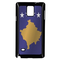 Flag Of Kosovo Samsung Galaxy Note 4 Case (Black)
