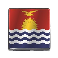Flag Of Kiribati Memory Card Reader (Square)