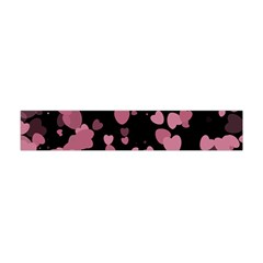 Pink Love Flano Scarf (Mini)