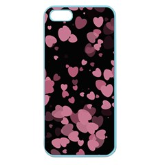 Pink Love Apple Seamless iPhone 5 Case (Color)