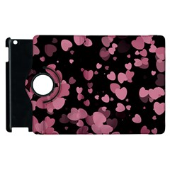 Pink Love Apple iPad 2 Flip 360 Case