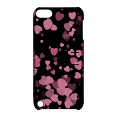 Pink Love Apple iPod Touch 5 Hardshell Case with Stand