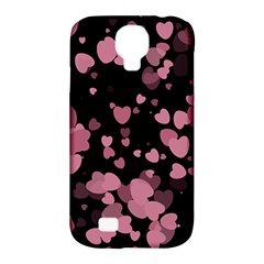 Pink Love Samsung Galaxy S4 Classic Hardshell Case (PC+Silicone)