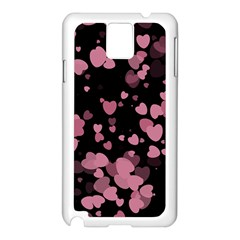 Pink Love Samsung Galaxy Note 3 N9005 Case (White)