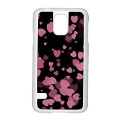 Pink Love Samsung Galaxy S5 Case (White)