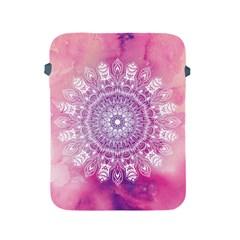Pink Watercolour Mandala Apple iPad 2/3/4 Protective Soft Cases
