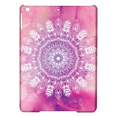 Pink Watercolour Mandala iPad Air Hardshell Cases