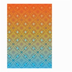 Ombre Fire and Water Pattern Small Garden Flag (Two Sides)