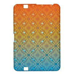 Ombre Fire and Water Pattern Kindle Fire HD 8.9