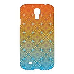 Ombre Fire and Water Pattern Samsung Galaxy S4 I9500/I9505 Hardshell Case