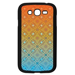 Ombre Fire and Water Pattern Samsung Galaxy Grand DUOS I9082 Case (Black)