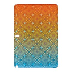 Ombre Fire And Water Pattern Samsung Galaxy Tab Pro 10 1 Hardshell Case