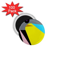 Angry bird 1.75  Magnets (100 pack)