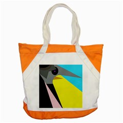 Angry bird Accent Tote Bag