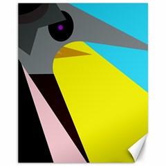 Angry bird Canvas 11  x 14
