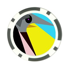 Angry bird Poker Chip Card Guards