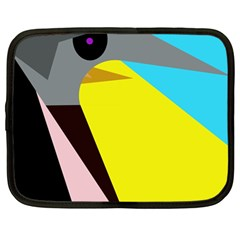 Angry bird Netbook Case (Large)