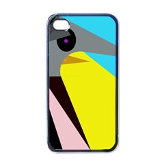 Angry bird Apple iPhone 4 Case (Black)