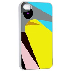 Angry bird Apple iPhone 4/4s Seamless Case (White)