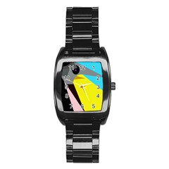 Angry bird Stainless Steel Barrel Watch