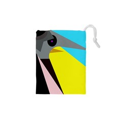 Angry bird Drawstring Pouches (XS)