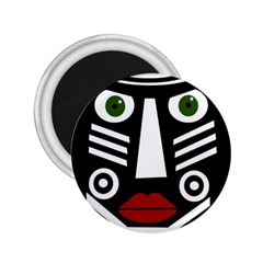 African mask 2.25  Magnets