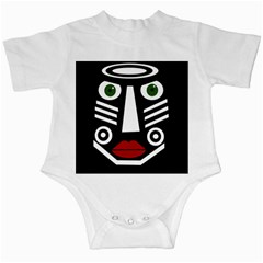 African Mask Infant Creepers
