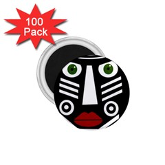 African mask 1.75  Magnets (100 pack)