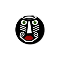 African mask Golf Ball Marker