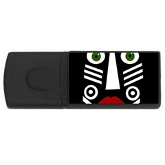 African mask USB Flash Drive Rectangular (2 GB)