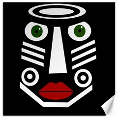 African mask Canvas 20  x 20