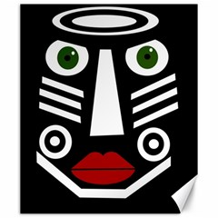 African mask Canvas 20  x 24
