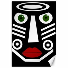 African mask Canvas 20  x 30