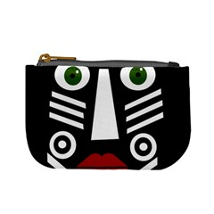 African mask Mini Coin Purses