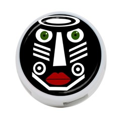 African mask 4-Port USB Hub (Two Sides)